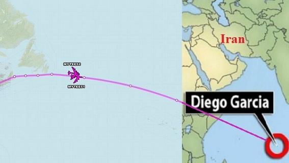 Mỹ điều 6 B-52 sang Diego Garcia, sẵn sàng tấn công Iran