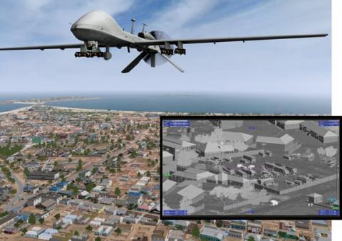 Tuong Iran: MQ-9 dang truyen tin thi bi Tehran chan dung