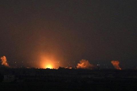 Israel tan cong can cu co linh Nga-Iran tai Syria?