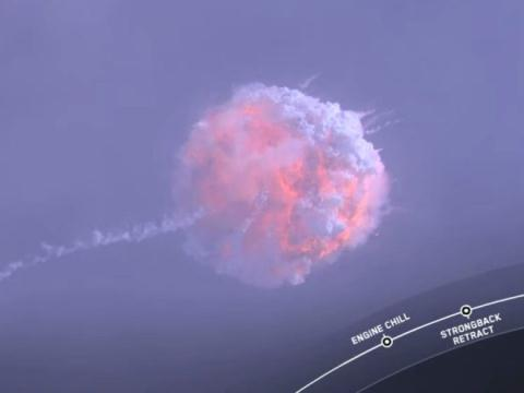 SpaceX thu nghiem tau vu tru phat no nhung van ca ngoi