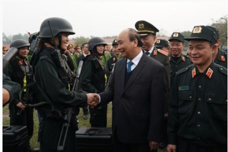 Thu tuong Nguyen Xuan Phuc noi ve vu viec tai Dong Tam