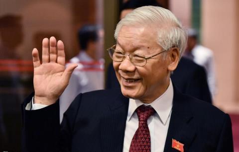 Tong Bi thu Nguyen Phu Trong cam on cong dan Viet Nam