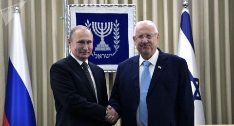 Tu Jerusalem, ong Putin noi ve nhiem vu chung cua Nga-Israel