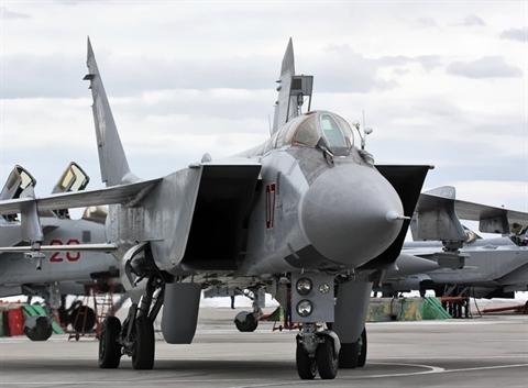 NATObat ankhi Quan khu Trung tam nhan loat MiG-31BM