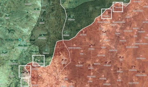 SAA xe toac phong tuyen Idlib, My chan tuong Nga