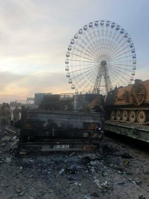 SAA nướng chín xe tăng Thổ, Ankara tuyên bố sốc
