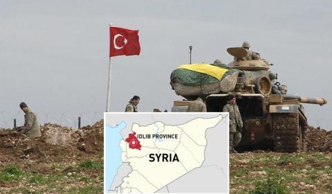 Binh sĩ Thổ Nhĩ Kỳ ở khu vực Idlib