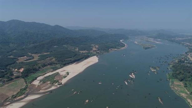 Đập Xayaboury, dòng chảy Mekong nửa đầu mùa khô 2019-2020