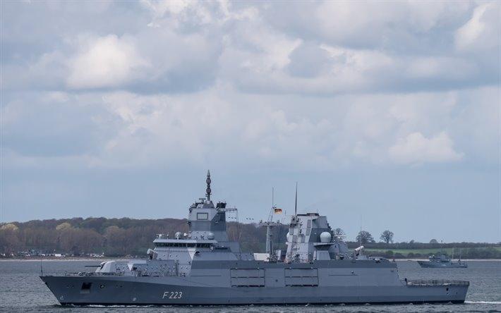 Hai tàu cuối cùng dự kiến sẽ được hoàn thành trong vòng 2 năm tới và có thể còn tùy chọn đóng thêm một loạt 4 tàu Type 125 thứ hai. Điều đáng nói ở đây chính là việc các khu trục hạm Type 125 được Hải quân Đức chế tạo và triển khai tại khu vực Biển Baltic nhằm mục đích chính là kiềm chế Hải quân Nga, cụ thể là Hạm đội Baltic.