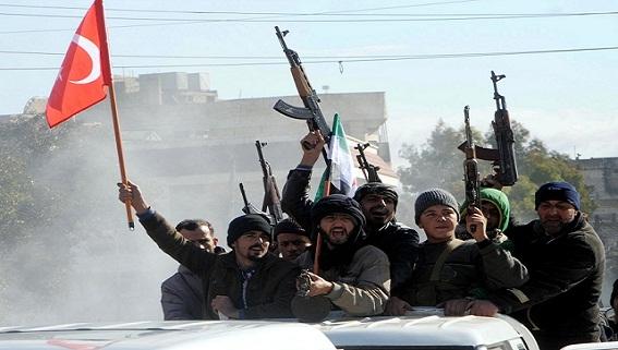 Bế tắc, phiến quân thân Thổ đánh lộn nhau ở Syria