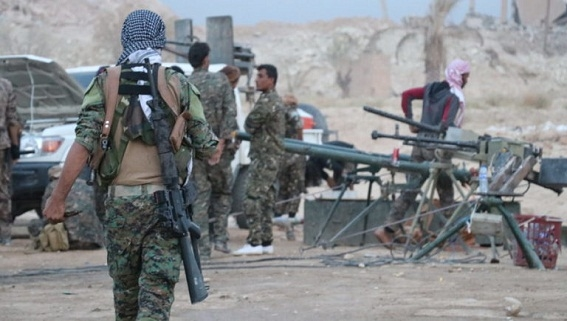 Dân Ả-rập chặn đoàn xe Mỹ, YPG ra mặt bảo kê