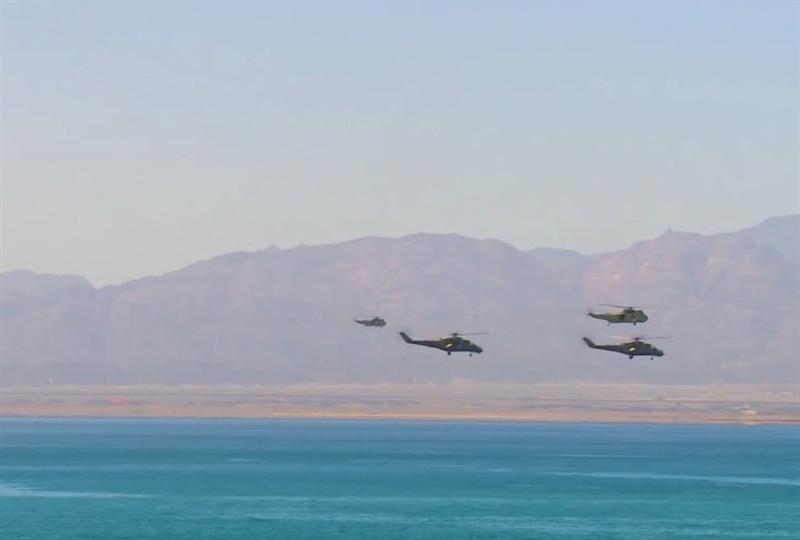 Trong đợt điều động vũ khí quy mô lớn của Ai Cập lần này có khoảng gần 30 xe tăng chiến đấu chủ lực M1A2 Abrams (do Mỹ sản xuất), nhiều trực thăng chiến đấu Mi-24 (Nga sản xuất) được trang bị rocket đa năng S-80 (không xác định được số lượng) và nhiều vũ khí hạng nặng khác.