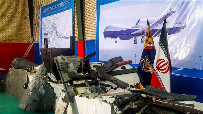 Lễ kỷ niệm được Iran tổ chức bằng việc công bố những hình ảnh về mảnh vỡ của chiếc Global Hawk tìm được.