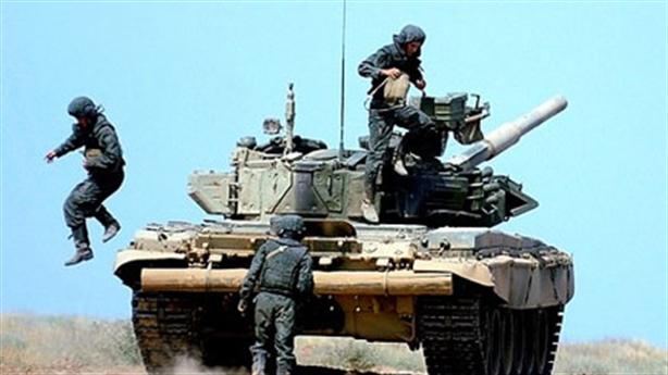 Lửa - đạn vô hại với lính tăng Nga