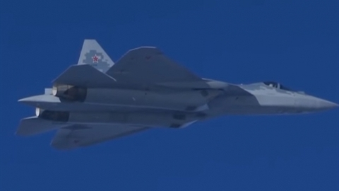 Su-57 đã từ lâu ở trong...căn cứ Hmeimim?