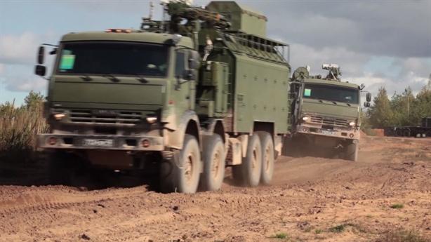 Tổ hợp EW Palantin Nga là 'tác giả' hạ gục UAV Israel?