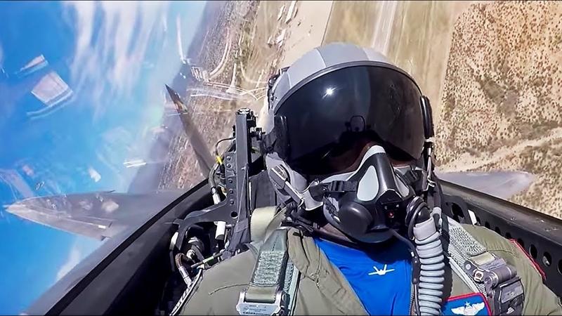 Không đoàn tiêm kích số 3 - đây là đơn vị đang vận hành 40 tiêm kích tàng hình F-22 là đơn vị đầu tiên được trang bị súng trường nòng ngắn GAU-5/A cho phi công, giúp tăng hỏa lực tự vệ khi họ phải nhảy dù trên lãnh thổ đối phương hoặc đối mặt với quân khủng bố.