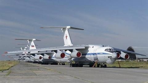Nga dùng 7 chiếc Il-76 chở vũ khí tới Syria?