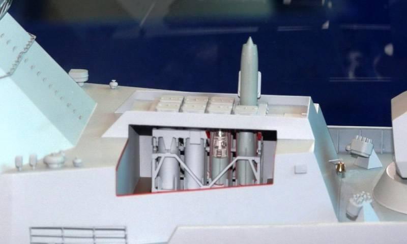 Trong mỗi ô phóng có thể bố trí 1 tên lửa tầm trung (9М96Е) hay tầm xa (9М96Е2) để trong ống phóng, hay 4 tên lửa tầm ngắn (9М100). Tên lửa được phóng đi bằng khí nén, sau đó động cơ hành trình được khởi động.