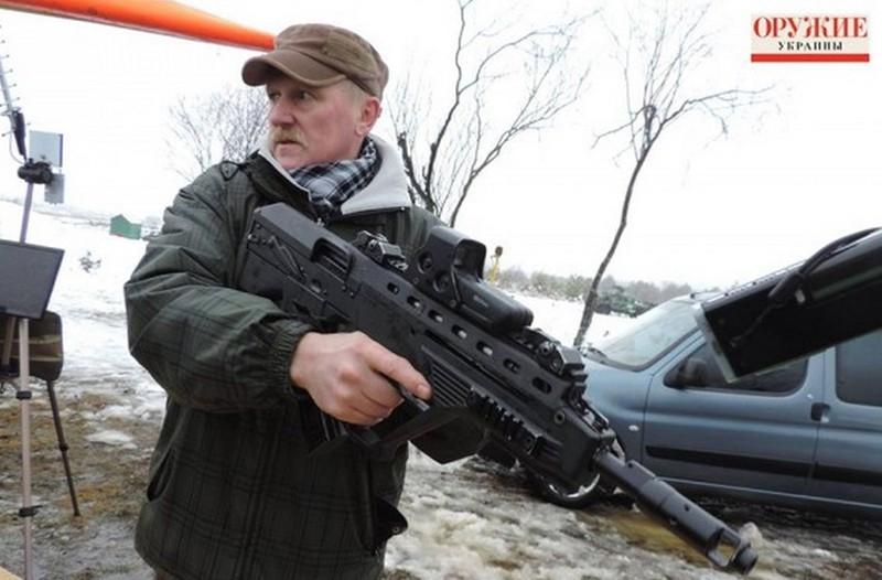 Súng trường Malyuk có chiều dài chỉ 710mm và có thể sử dụng các loại đạn 5,45/7,62 x 39 mm hoặc 5,56 x 45 mm. Nó có tầm bắn hiệu quả 500m, tốc độ bắn 600 viên/phút và có thể sử dụng băng đạn 30 đến 45 viên.