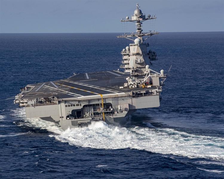 Mới đây Hải quân Mỹ đã tuyên bố, nhiều khả năng tàu sân bay USS Gerald R. Ford sẽ có đủ khả năng hoạt động vào năm 2024.