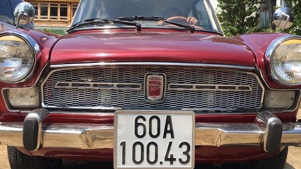 Ông Đoàn Ngọc Hải muốn bán ôtô cổ để làm từ thiện