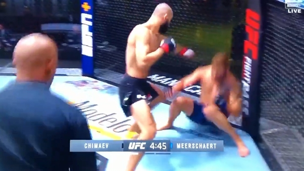 'Khabib' Thụy Điển mất 17 giây đánh gục võ sĩ Mỹ