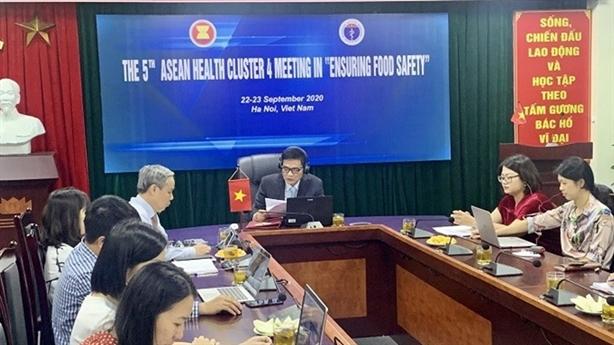 Việt Nam chủ trì cuộc họp ASEAN về an toàn thực phẩm