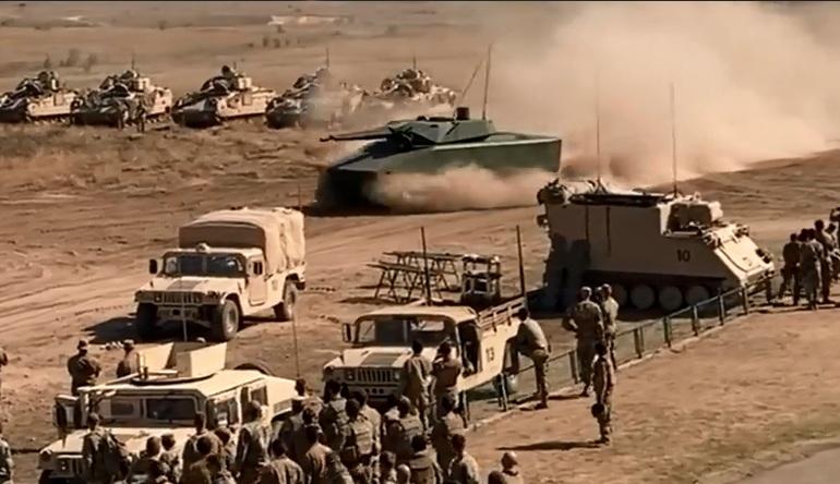 Hình ảnh công bố được ghi lại hôm 22/9 khi lực lượng chiến đấu mặt đất Mỹ đang tham gia sự kiện Excercise Brave Warrior. \