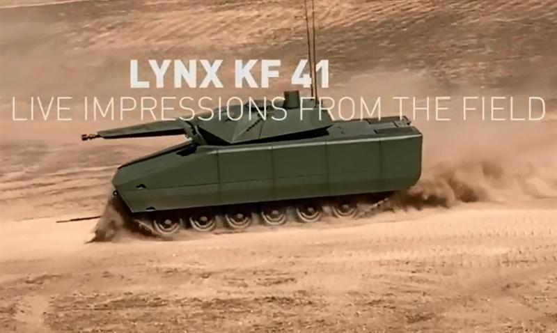 Nguồn tin cho biết thêm, Lynx có 2 phiên bản khác nhau về trọng lượng và số lượng binh sĩ chở theo. Phiên bản KF31 có khả năng chở theo 6 binh sĩ với trang bị đầy đủ. Còn phiên bản KF41 được bọc giáp tốt hơn nặng tới 38 tấn với khả năng chở theo 8 binh sĩ.