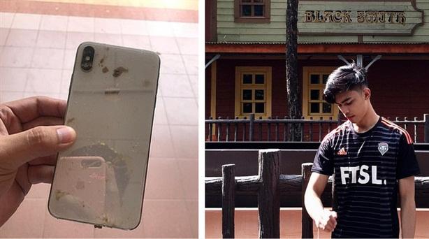 Phát hiện ra kẻ trộm iPhone qua bức ảnh selfie