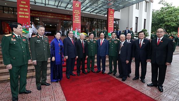 Tổng Bí thư, Chủ tịch nước dự ĐH Đảng bộ Quân đội