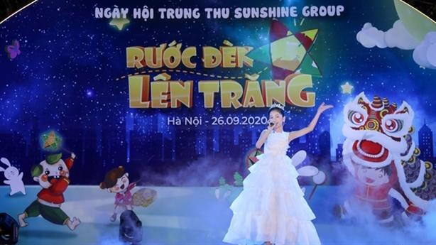 Tưng bừng 'Rước đèn lên trăng' hội Trung thu của Sunshine Group