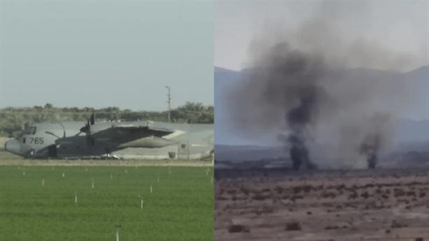 F-35 Mỹ rơi khi va chạm với máy bay tiếp dầu