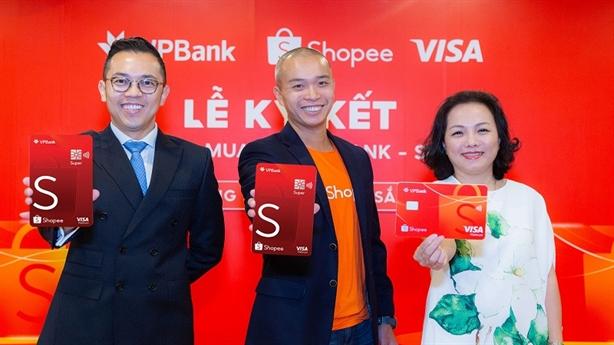 Shopee cùng VPBank và Visa ra mắt