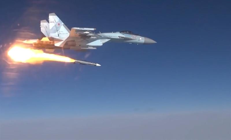 Bộ Quốc phòng Nga không cho biết thời gian diễn ra đợt thử nghiệm, cũng như khoảng cách từ chiếc Su-35S đến mục tiêu.
