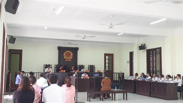 Diễn biến bất ngờ tại một phiên toà ở Bình Phước