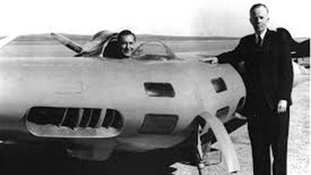 XP-79 được thiết kế để 'đâm' máy bay của đối phương