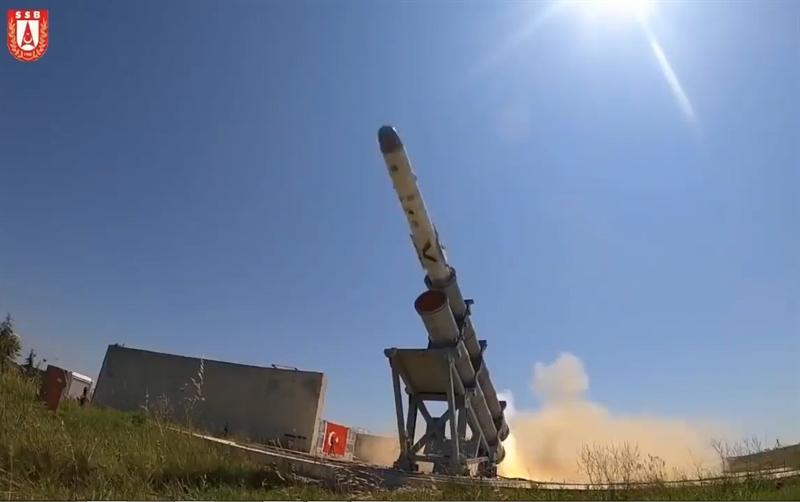 Thổ Nhĩ Kỳ vừa tiếp tục thử nghiệm thành công tên lửa chống hạm thế hệ mới Atmaca. \
