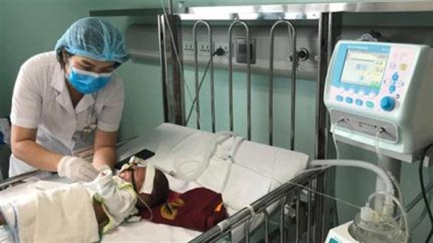 Trẻ mắc virus hô hấp hợp bào tăng đột biến