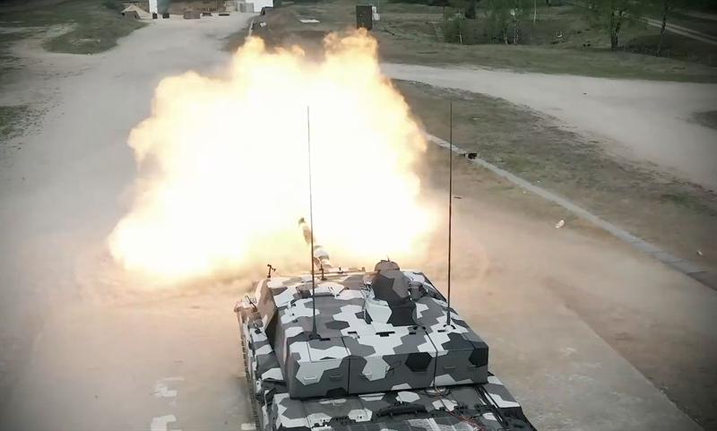 Theo giới thiệu của Rheinmetall, khẩu pháo 130mm tính luôn phần nạp đạn nặng tổng cộng 3 tấn, riêng nòng pháo nặng 1,4 tấn. Loại pháo mới này sẽ dùng loại đạn xuyên giáp mới, có đầu đâm xuyên bằng tungsten, và loại đạn nổ mảnh.