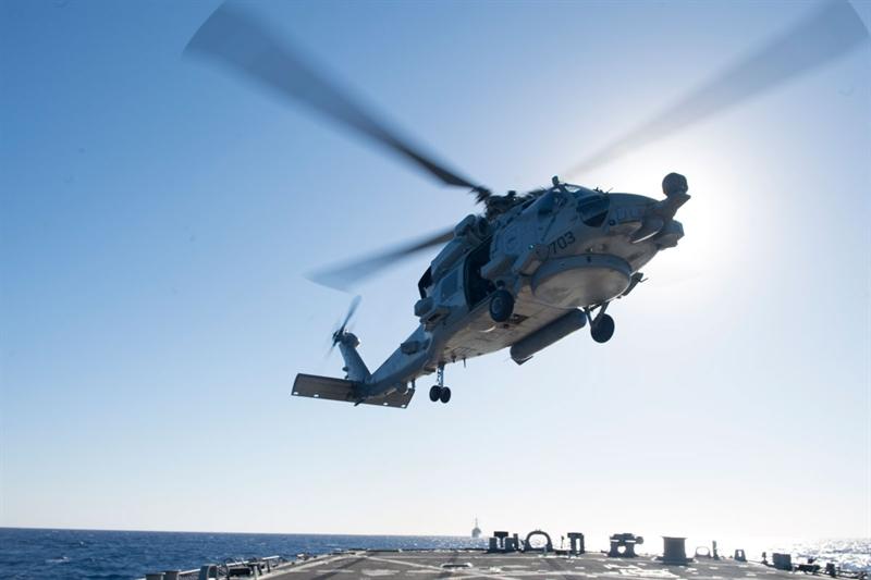 Hệ thống AOEW được phát triển theo đơn đặt hàng của Hải quân Mỹ với mục đích phát hiện kịp thời và có biện pháp đánh chặn các mối đe dọa từ tên lửa chống hạm của đối phương ngay giai đoạn đầu với hiệu suất cao.