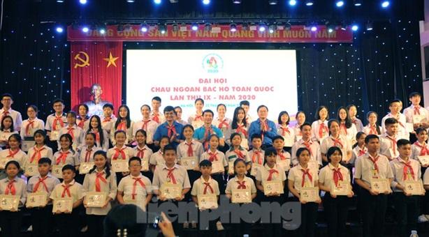 Đại hội Cháu ngoan Bác Hồ: Lan tỏa yêu thương miền Trung