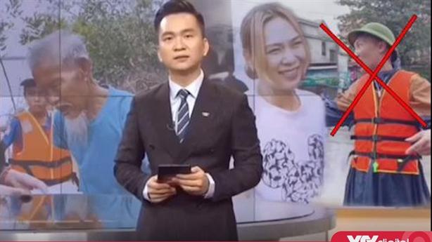 Sự thật clip Huấn Hoa Hồng đi từ thiện trên VTV
