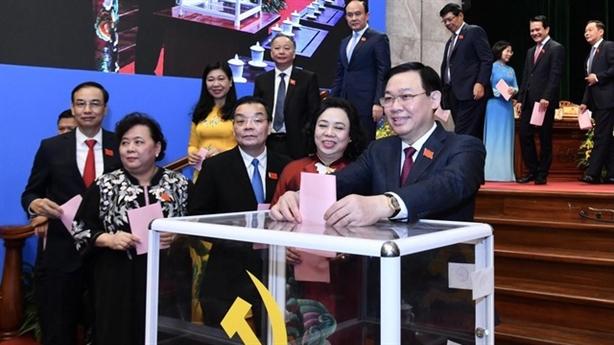Hà Nội phân công nhiệm vụ lãnh đạo chủ chốt