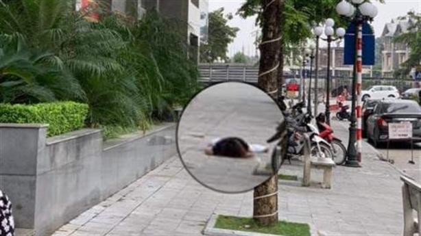 Người phụ nữ rơi từ tầng cao chung cư