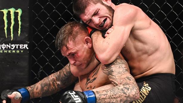 'Đại bàng' Nga suýt thua Justin tại UFC 254