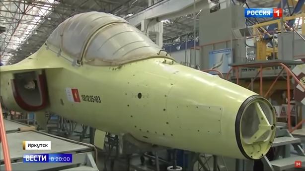 Hình ảnh đầu tiên của máy bay Yak-130 Việt Nam