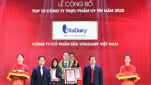 VitaDairy là ông lớn thứ 2 trong ngành sữa bột Việt Nam