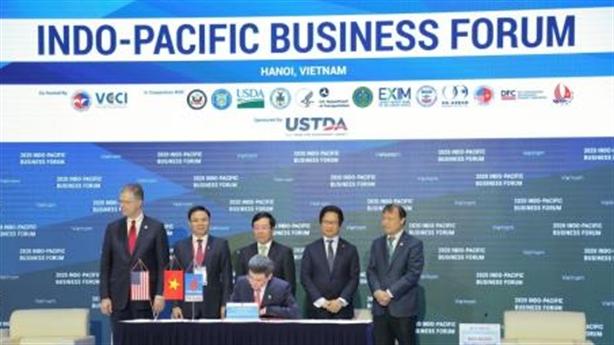 Những thỏa thuận tỉ đô tại Indo-Pacific Business forum 2020